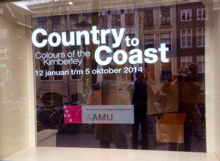 "Exposition d'Art Aborigène ""Country to Coast"" au musée d'art Aborigène d'Utrecht - 2014. #AAMU #Utrecht #artaborigene #australie #Aboriginal"