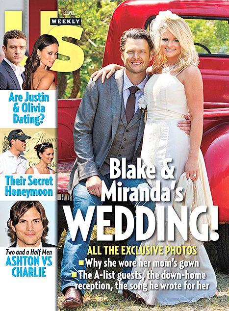 Blake Shelton, Miranda Lambert Split After Four Years of Marriage - Us Weekly - July 2015