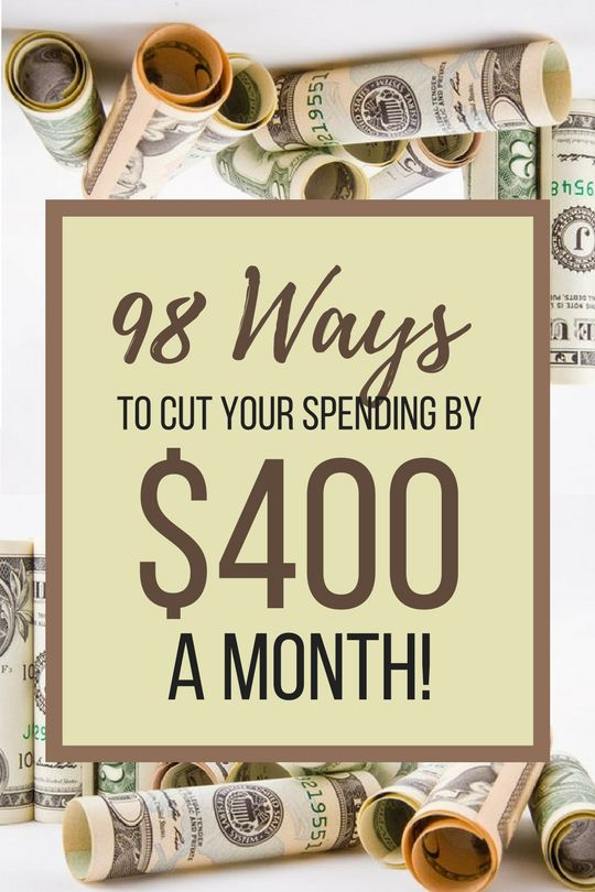 Save $400 a Month with these great tips!