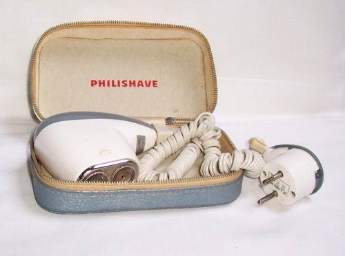 Philishave scheerapparaat (deze had mijn vader ook vroeger)