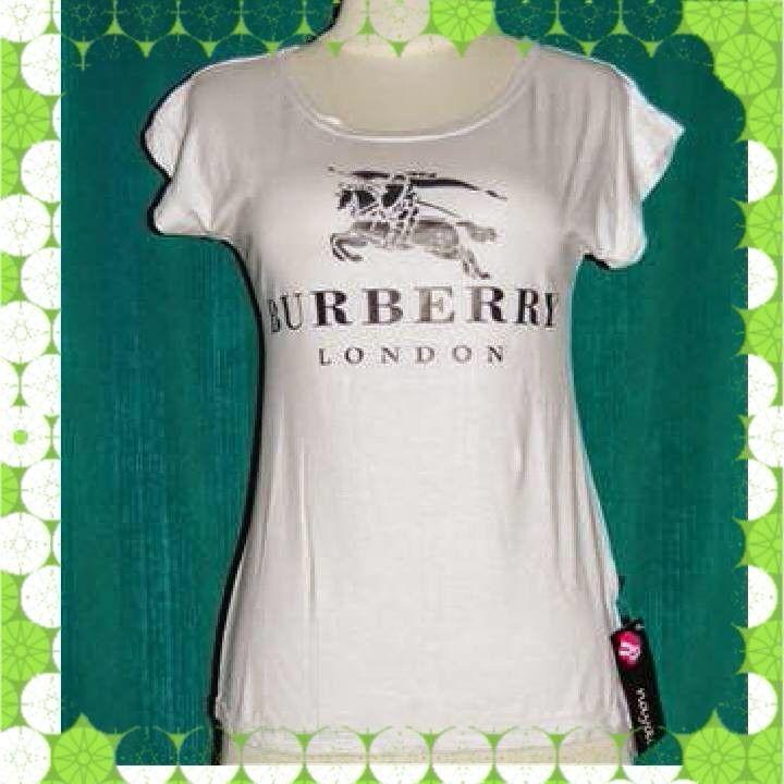 Jual PTQ017-TShirt White Burberry hanya Rp 19.000,-, lihat gambar klik https://www.tokopedia.com/naatunnshop/ptq017-tshirt-white-burberry
