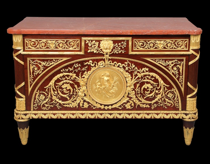 For Sale on   A fantastic and great quality century gilt bronze mounted Louis  XVI style mahogany commode by Pretot  The Ebeniste Hippolyte Edme Pretot53 best   images on Pinterest   Mirror mirror  Antique mirrors  . Louis Xvi Style Furniture For Sale. Home Design Ideas