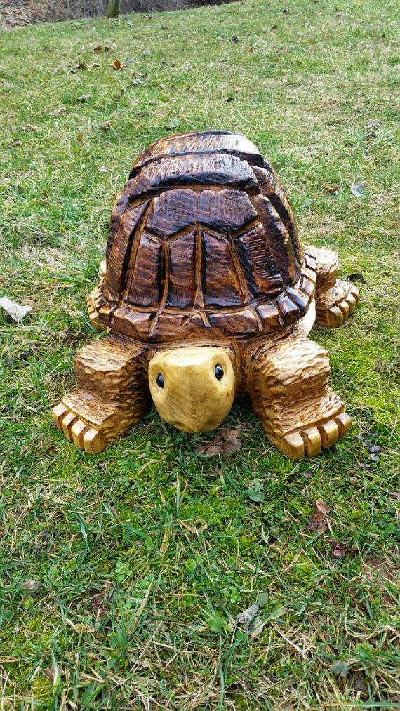 Chainsaw Carving Chainsaw Carved Medium by GearysCustomCarvings