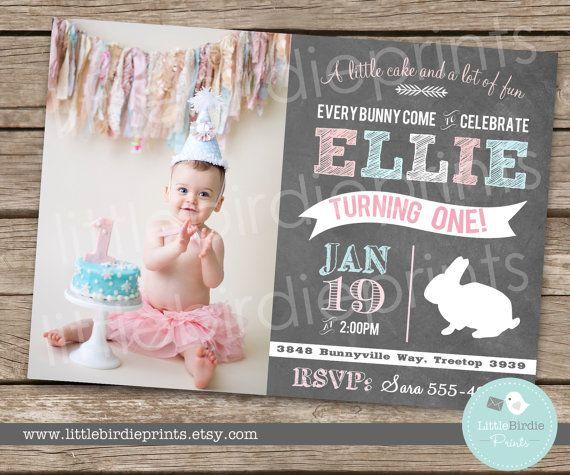 Hey, I found this really awesome Etsy listing at https://www.etsy.com/listing/176804767/bunny-birthday-invitation-chalkboard