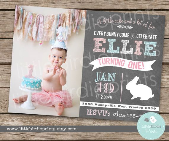 Hey, I found this really awesome Etsy listing at https://www.etsy.com/listing/176804767/bunny-birthday-invitation-chalkboard