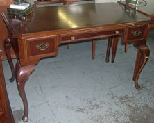 ***Royal York Hotel*** An elegant Queen Anne style writing desk with brass hardware. On sale for only $149.99 92 Arrow Rd North York Ontario canada