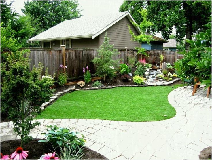 Backyard Landscape Ideas without Grass - ComeDecor | Small ...