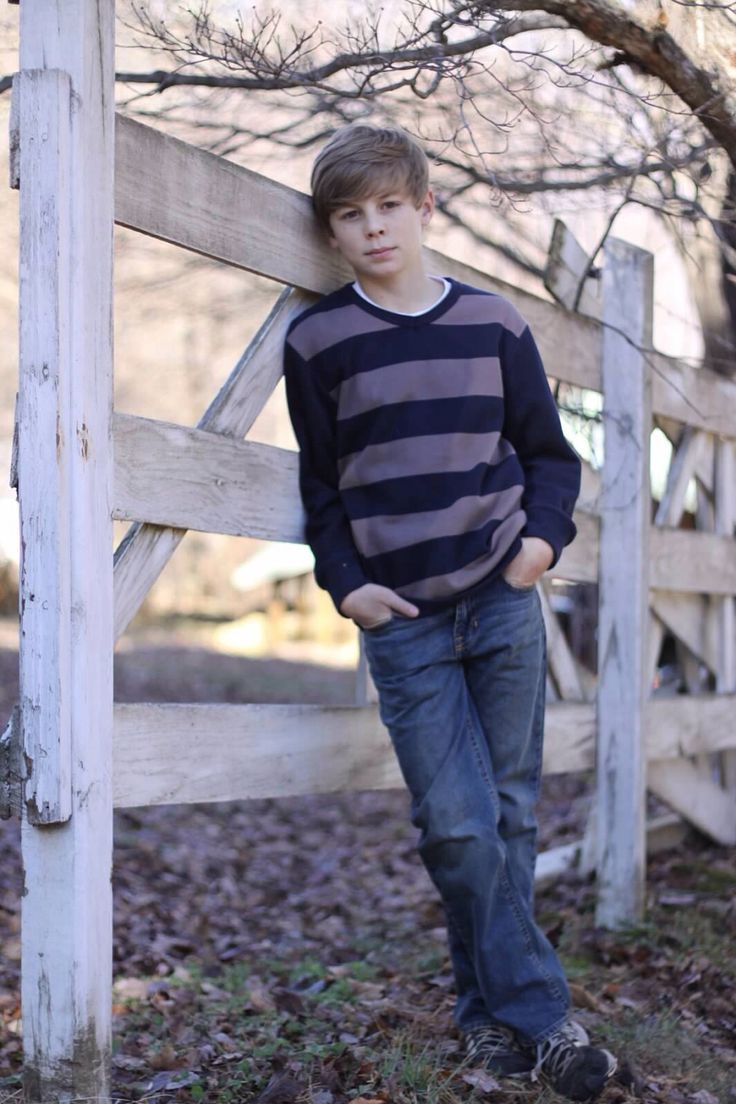 Tween Boy Photography