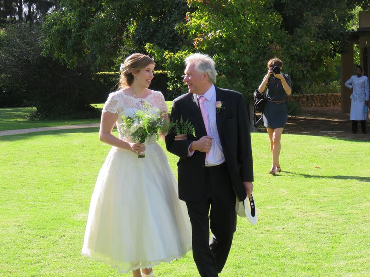 Sophie Wore A Bespoke Francesca For Her Wedding In South Africa