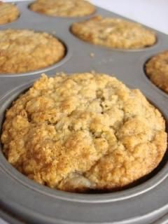Recipe for Healthy Oatmeal Muffins  **1 package Ideal Protein Plain Crepe 1 package Ideal Protein Maple Oatmeal
