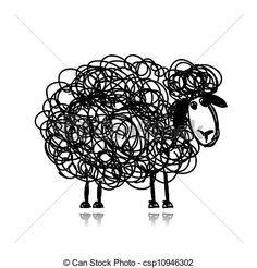 illustrations mouton - Recherche Google