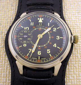 ■30年代 オメガ ドイツ 空軍 アンティーク 時計 パイロット 所さん■