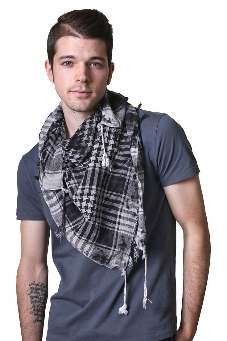 Men's Charleston Extreme Rugged Square Cotton Shemagh ...