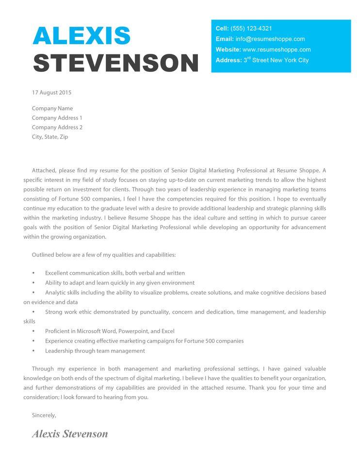 25+ Creative Cover Letter Creative cover letter, Cover