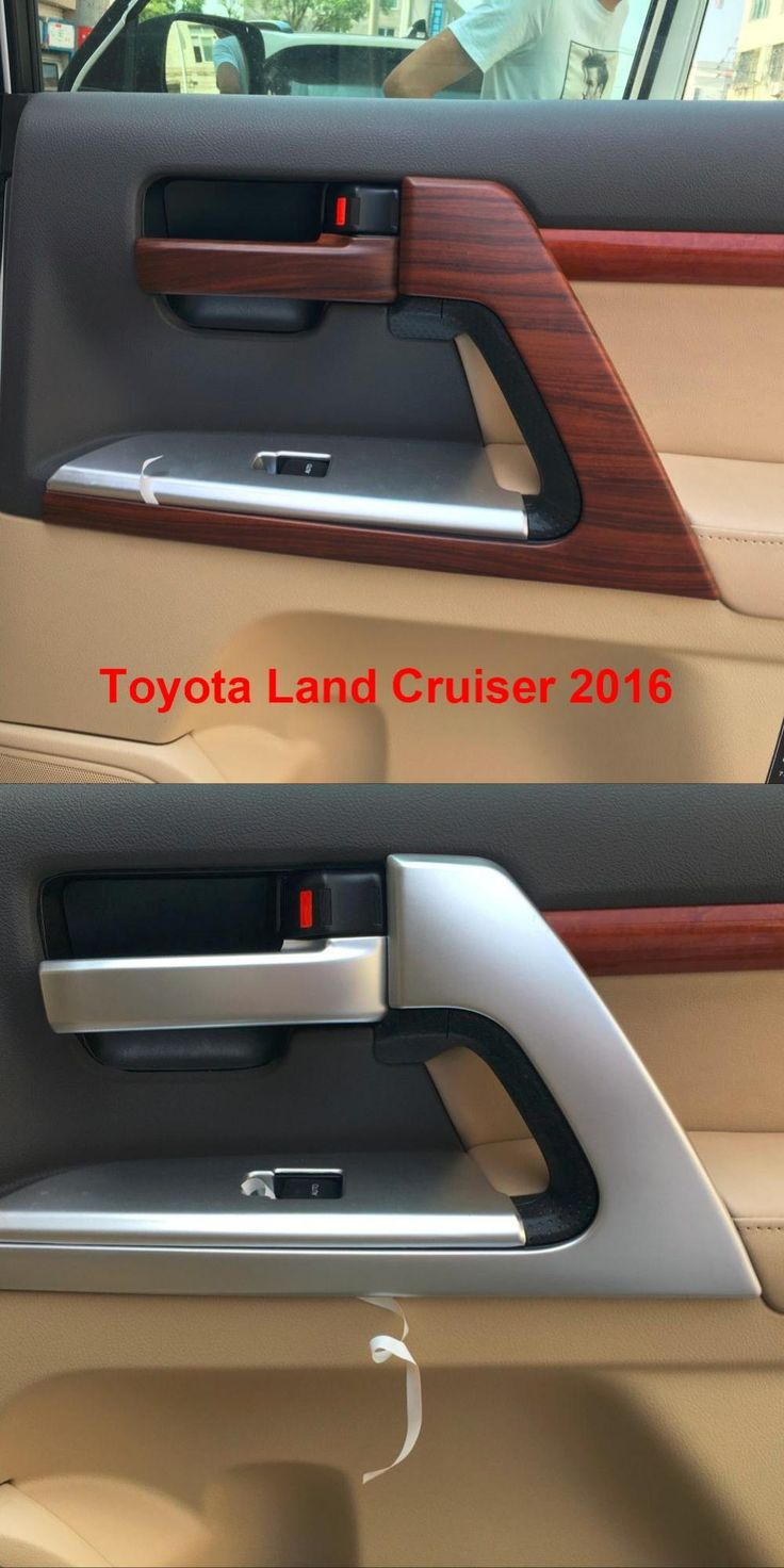 visit to buy interior door handle styling mouldings for toyota land cruiser v8 lc200