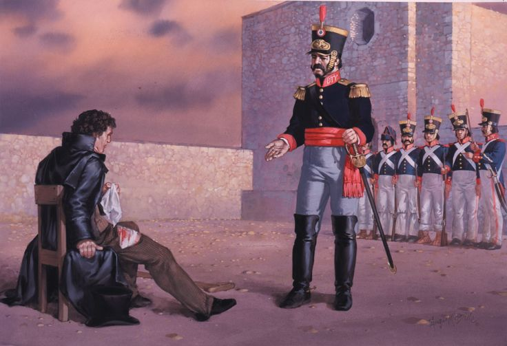 Alamo - The Execution of Colonel James W. Fannin, Jr ...