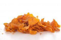 Cómo hacer chips de calabaza #recetas #verduras #hortalizas