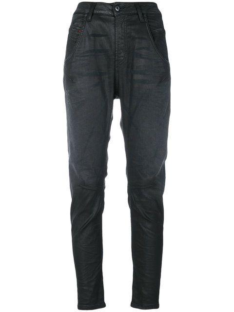 DIESEL Coated Tapered Jeans. #diesel #cloth #jeans