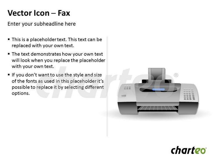 Have you already tried our Fax icon for PowerPoint? Download now at http://www.charteo.com/en/PowerPoint/Icons-Symbols/Vector-Icon-Fax.html