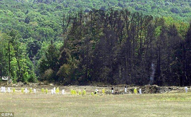 pennsylvania 9/11 flight 93 | ... guarding Flight 93 site after deadly crash on 9/11' | Mail Online