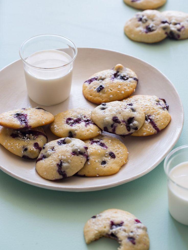 Blueberry Yogurt Cookies | Healthy Cookie Recipe | Spoon Fork Bacon