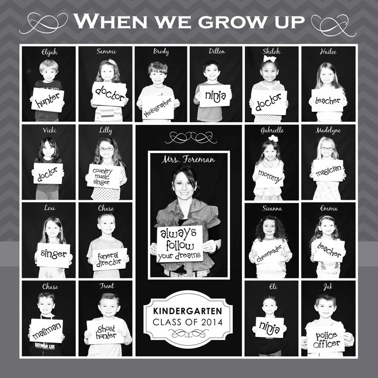 When I Grow Up Photo Collage
