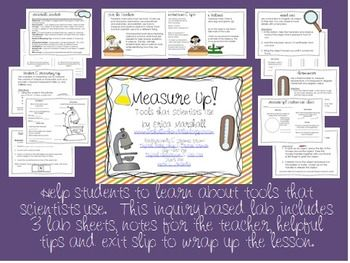 Awesome Inquiry Lab that teaches Science Tools!!