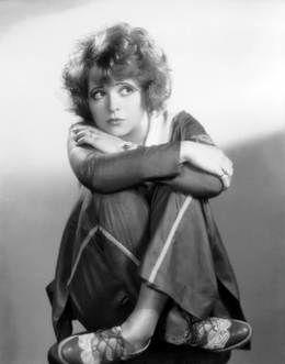 Inspiration for Ellis Eton: Clara Bow, the orginal 'It Girl'