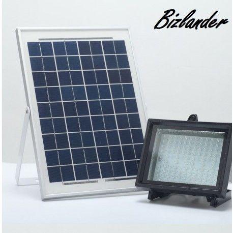 Bizlander 10W108LED Solar Power Flood Light, Commercial Light for Sign