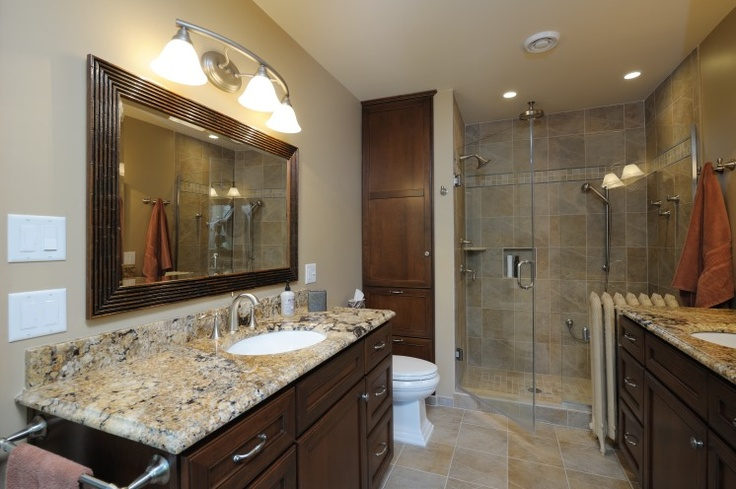 Bathroom remodel by dehaan remodeling specialists for Bath remodel wyoming mi