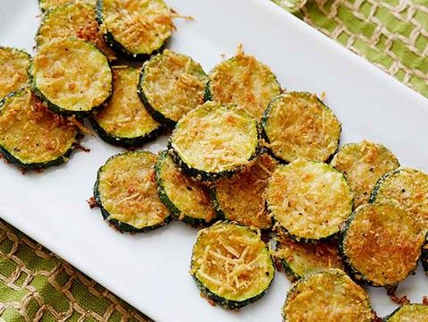 Zucchini Parmesan Crisps | Cook'n is Fun - Food Recipes, Dessert, & Dinner Ideas