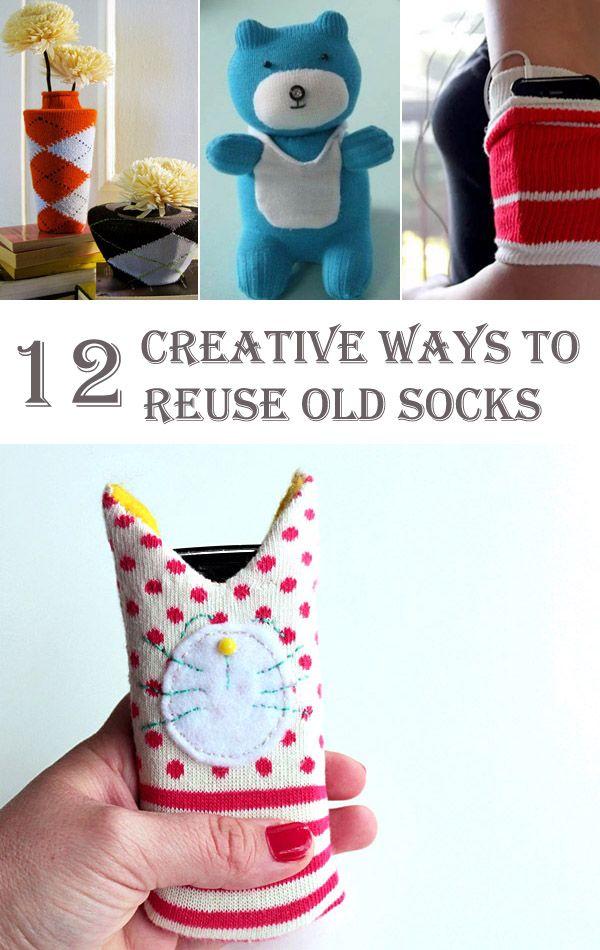 12 Creative Ways to Reuse Old Socks