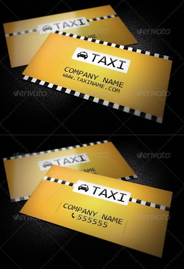 39 best TAXI images on Pinterest | Business cards, Carte de visite ...