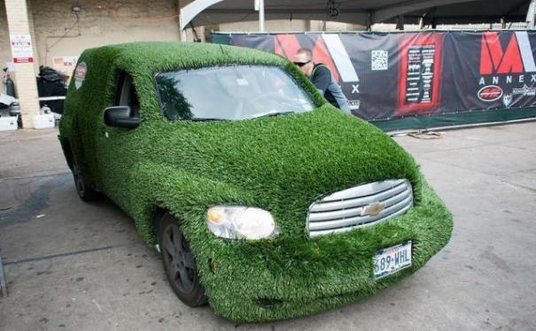 El coche de Mr. Credito :-)