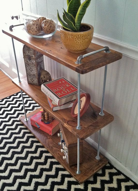 Adjustable Three Level Threaded Rod Shelf By NorthernWoodCo, $375.00 | Wood  Shop/Garage Storage Ideas | Pinterest | Shelves, Third And Storage Ideas