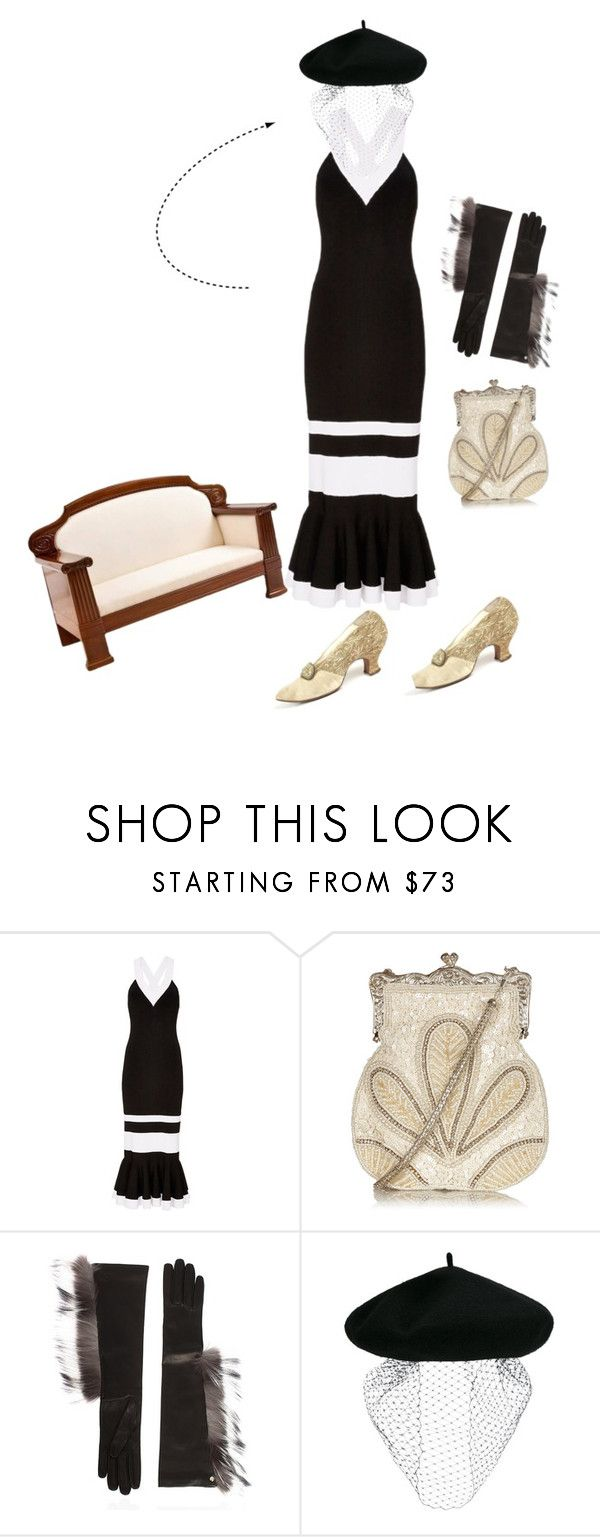 """""""Untitled #5183"""" by ayse-sedetmen ❤ liked on Polyvore featuring Jonathan Simkhai, Fendi, Silver Spoon Attire and Gatsby"""