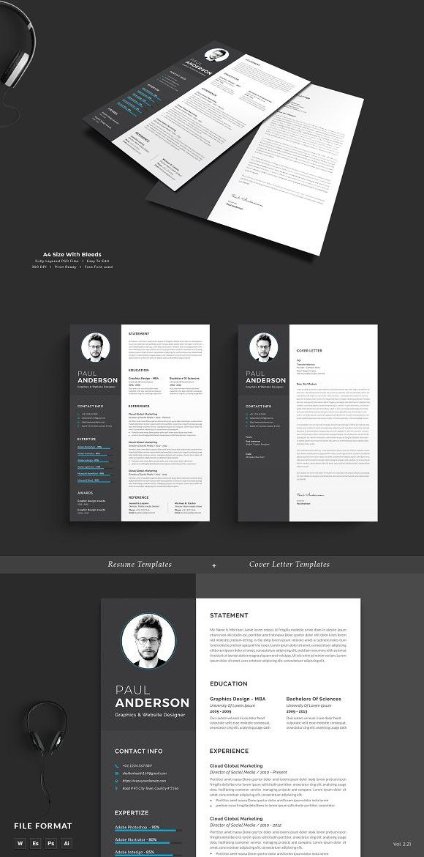 resume cv stationery templates pinterest resume cv resume and
