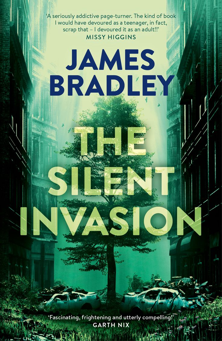 The Silent Invasion by James Bradley. Cover design by Debra Billson for Pan Macmillan. Illustration by Melkor3D.