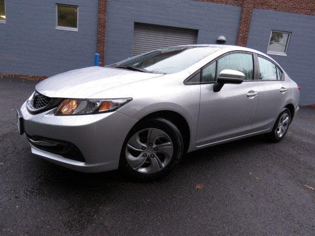 CPO 2014 Honda Civic LX for sale at DCH Paramus Honda in Paramus, NJ for $13,595. View now on Cars.com.