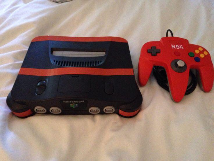 n64 Black - Orange Striped  Made by Retro Refabricators http://retrorefabricators.weebly.com/