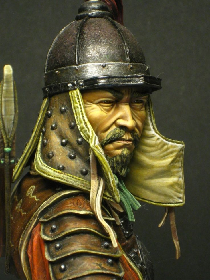 Mongol Warrior by Doc_M · Putty&Paint