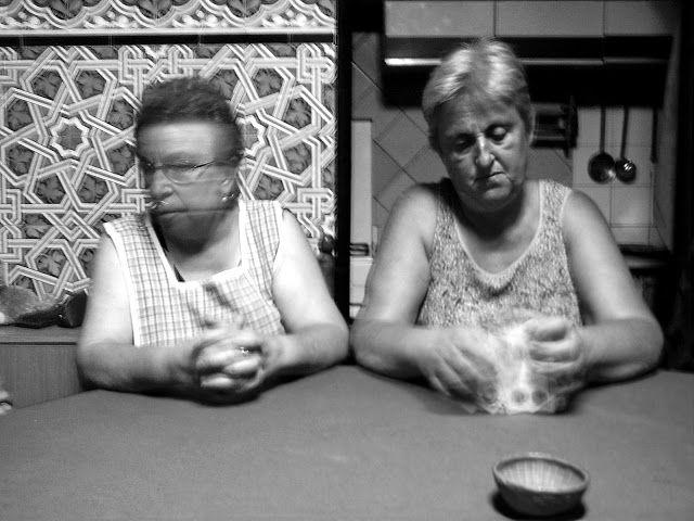 Eric Lavergne Images: Partida de cartas / Partie de cartes.  3.118 bn Clásica.
