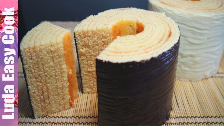 Вкуснейший Немецкий ПИРОГ-ДЕРЕВО Баумкухен  - German Layered Cake Baumku...