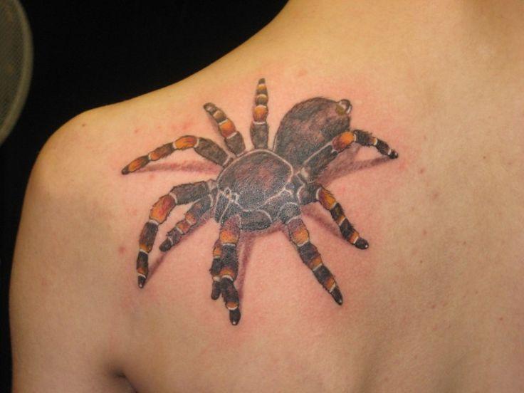 52 besten tattoos spinnen spider bilder auf pinterest t towierungen spinnen und spinne. Black Bedroom Furniture Sets. Home Design Ideas