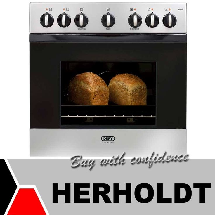 At the Herholdt Group we have a wide variety of built in ovens. These products are durable and of high quality. This Defy Slimline Built in oven provides extra space in your kitchen and efficient cooking features! Visit us and come have a look! #cooking #baking #spring
