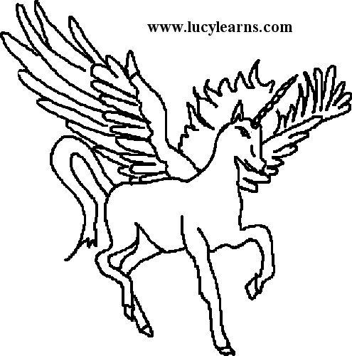 unicorn coloring pageshow to draw unicorn instructionsunicorn