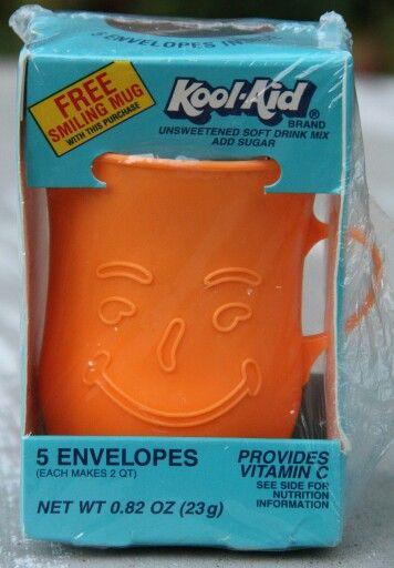 Kool-Aid mugs. Takes me back to my childhood at my Grandma's house