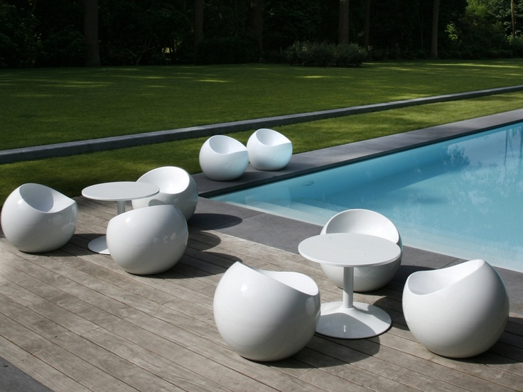 Modern White Outdoor Furniture 106 best modern outdoor furniture images on pinterest | modern
