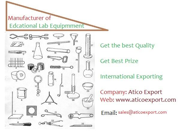 get the best quality in any educational lab equipment.
