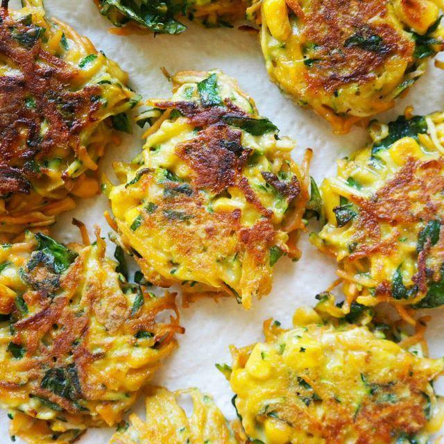 vegetable fritters | my lovely little lunch box | Bloglovin'